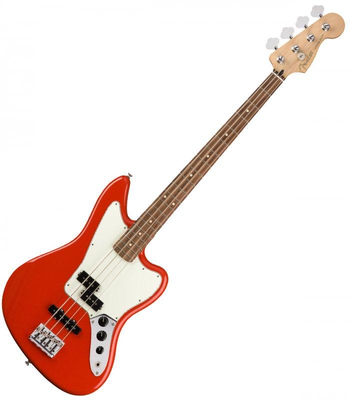 Fender Player Jaguar Bass PF Sonic Red
