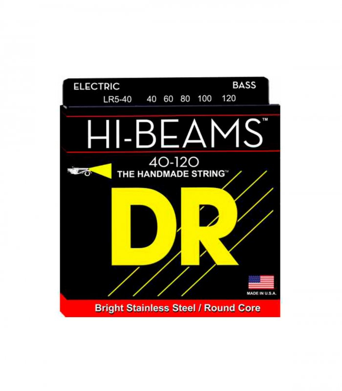 Dr String Hi Beams LR5-40