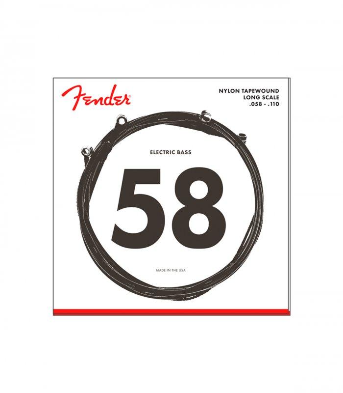 Fender Nylon Tapewound 9120 58-110