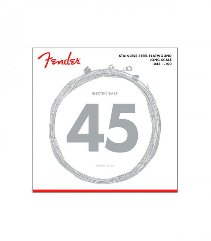 Fender Stainless Steel Flatwound 9050L 45-100