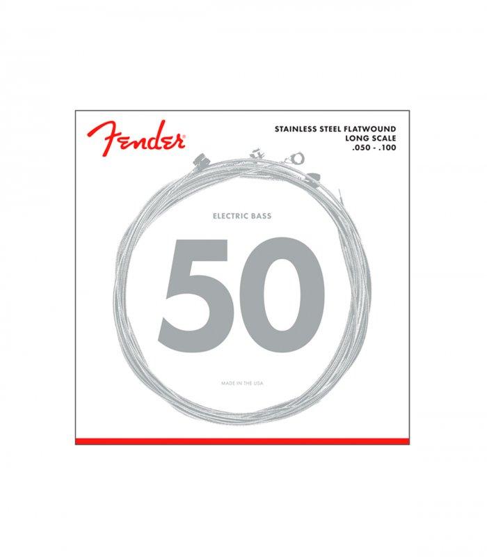 Fender Stainless Steel Flatwound 9050ML 50-100