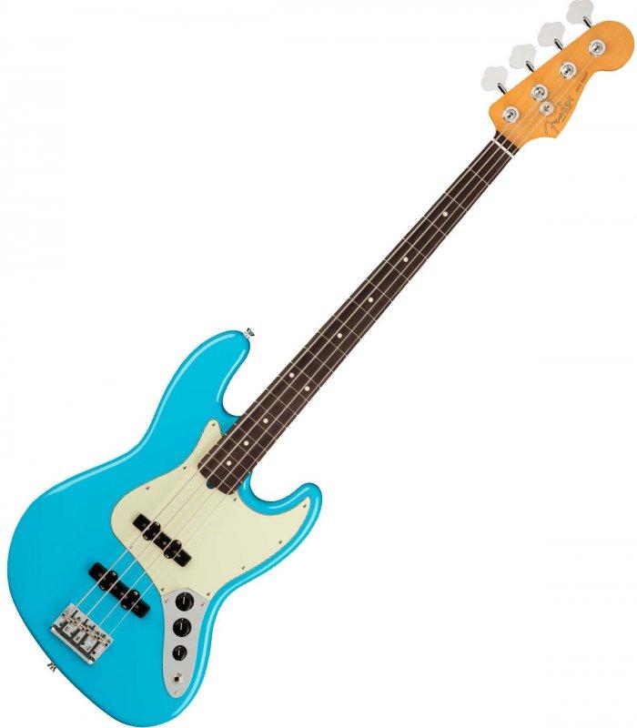 Fender American Professional II Jazz Bass Miami Blue