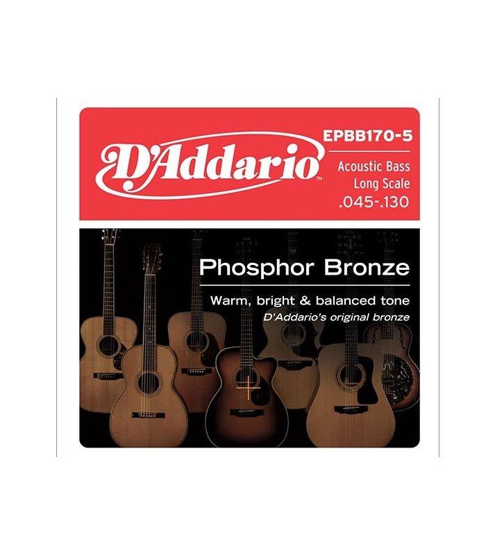 D'Addario Phosphor Bronze EPBB170-5