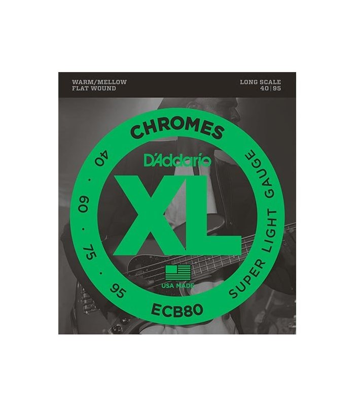 D'Addario Chromes ECB80