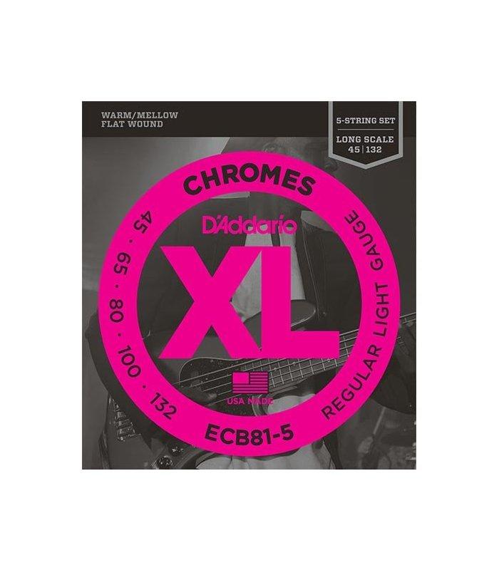 D'Addario Chromes ECB81-5