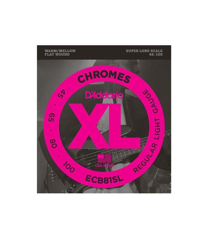 D'Addario Chromes ECB81SL