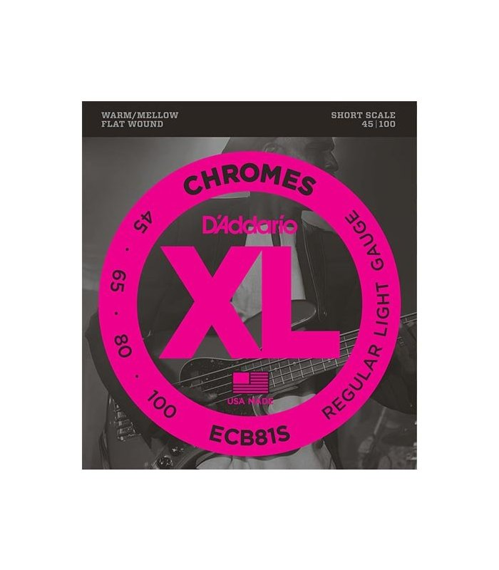 D'Addario Chromes ECB81S