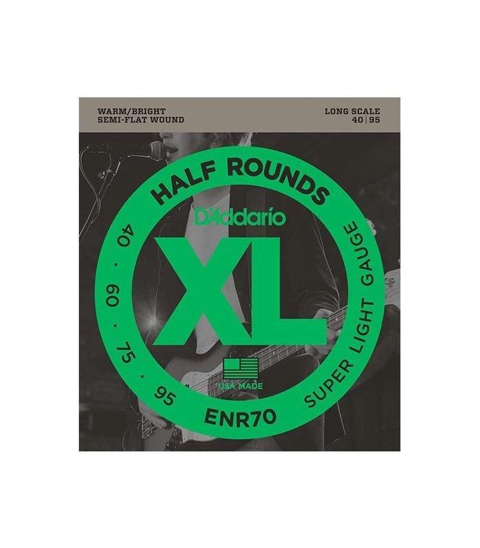 D'Addario Half Round ENR70 40-95