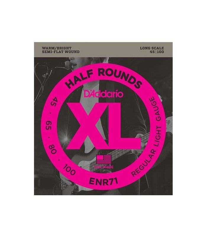D'Addario Half Round ENR71 45-100