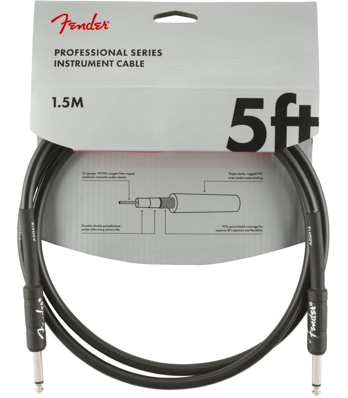 Fender Professional Series cable 5ft R/R