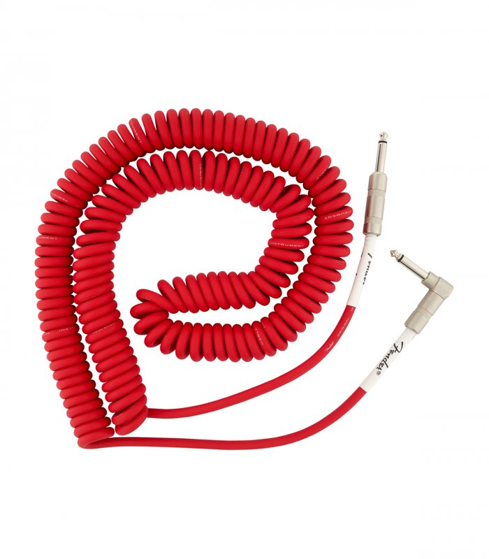 Fender Original Series Coil Cable Fiesta Red