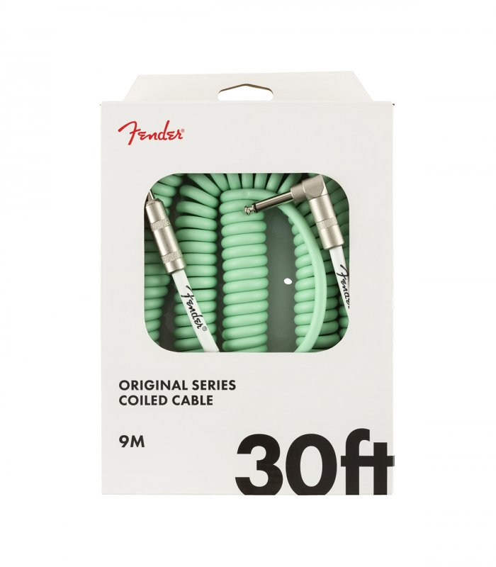 Fender Original Series Coil Cable Surf Green