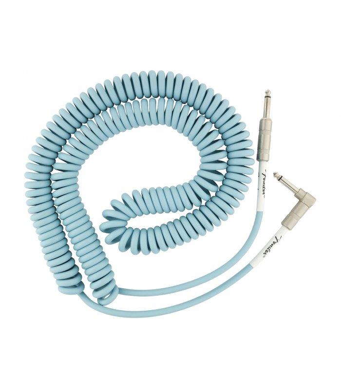 Fender Original Series Coil Cable Dahne Blue