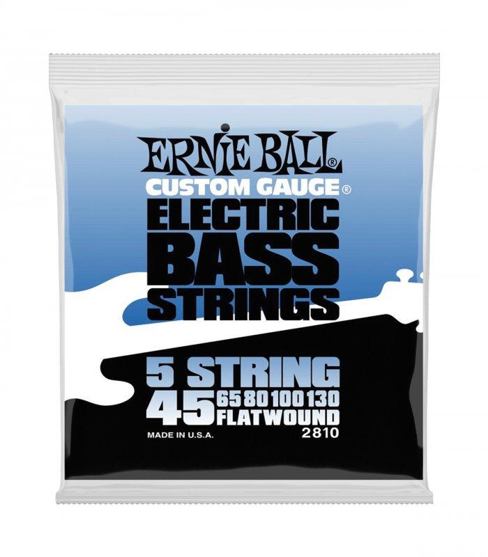 Ernie Ball 2810 Flatwound 5