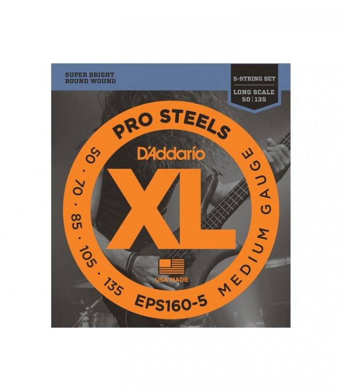 D'Addario Pro Steels EPS160-5