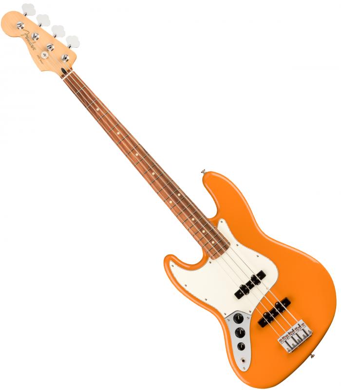 Fender Player Jazz Bass PF CAPRI LH