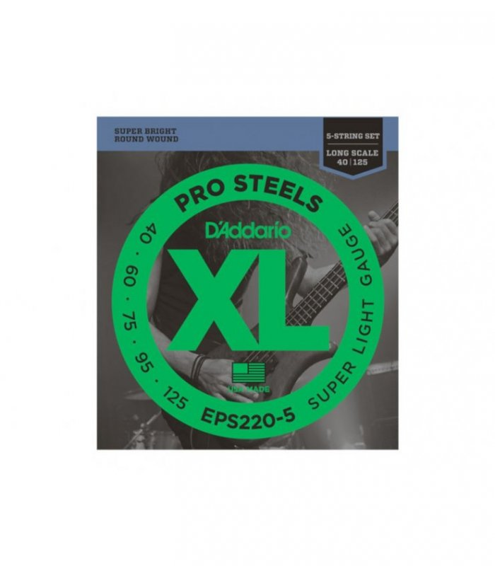 D'Addario Pro Steels EPS220-5