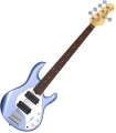 Sterling by Music Man SUB Ray5HH Lake Blue Metallic