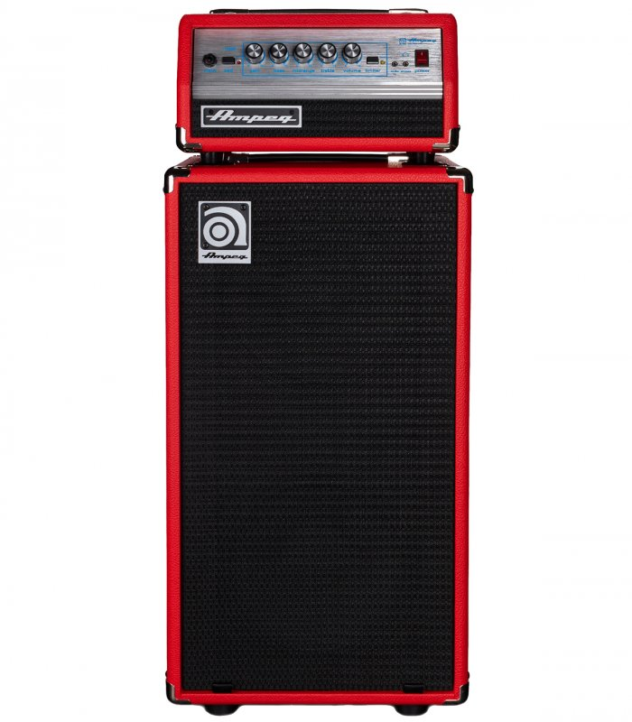 Ampeg Micro VR Stack Limited Edition Red
